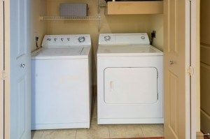 One Bedroom Apartments in Houston, Texas - Model Laundry Room (2)